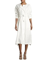 Vestido camisa blanca de Isabel Marant