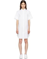 Vestido camisa blanca de MM6 MAISON MARGIELA
