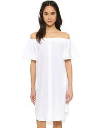 Vestido camisa blanca de Vince