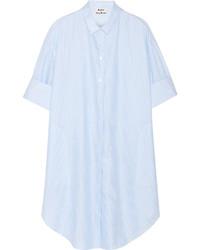 Vestido camisa celeste de Acne Studios