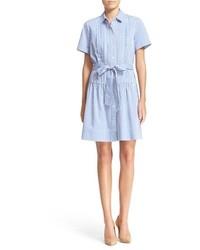 Vestido camisa celeste de Kate Spade