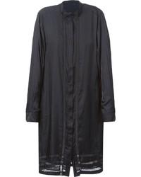 Vestido camisa de encaje negra de Diesel