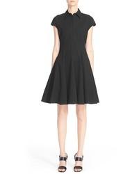 Vestido camisa negra de Michael Kors