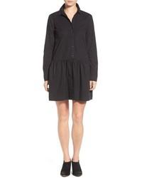 Vestido camisa negra de Splendid