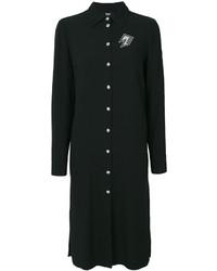 Vestido camisa negra de Versus