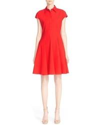 Vestido camisa roja de Michael Kors