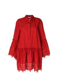 Vestido camisa roja de P.A.R.O.S.H.