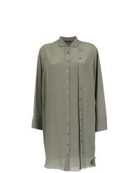 Vestido camisa verde oliva de Uma Raquel Davidowicz