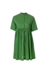 Vestido camisa verde de Woolrich