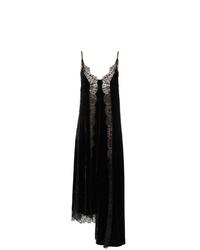 Vestido camisola de encaje negro de Stella McCartney