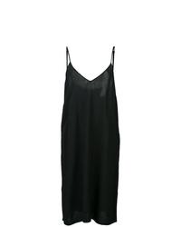 Vestido camisola negro de Raquel Allegra