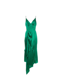 Vestido camisola verde de Olivier Theyskens