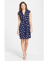 Como combinar un vestido azul marino casual