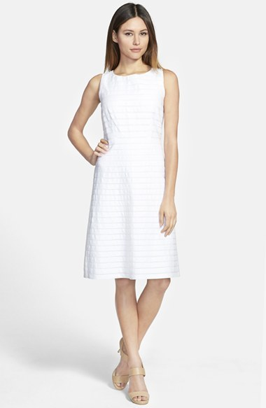 07a762159 Vestido casual de lino blanco de Lafayette 148 New York