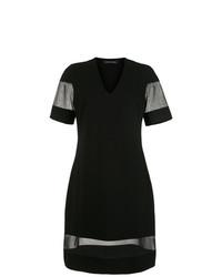 Vestido casual de malla negro de Gloria Coelho