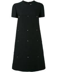 Vestido casual negro de Valentino