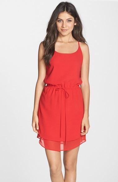 c900a59f4 ... Vestido casual rojo ...