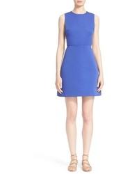 Vestido con recorte azul de Kate Spade