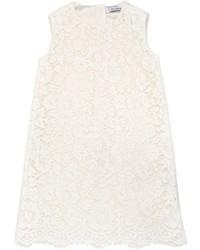 Vestido de encaje blanco de Dolce & Gabbana