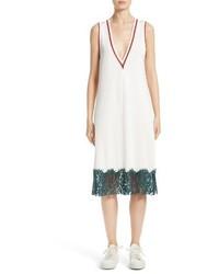 Vestido de Encaje Blanco de MM6 MAISON MARGIELA