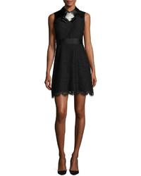 Vestido de encaje negro de Kate Spade