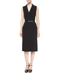 Vestido de esmoquin negro de Michael Kors