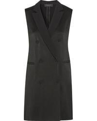 Vestido de esmoquin negro de Rag & Bone