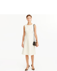 Vestido de lana blanco de J.Crew