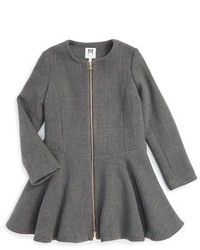 Vestido de lana gris de Milly