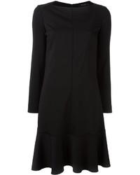 Vestido de lana negro de Etro
