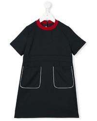 Vestido de lana negro de Marni