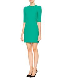 Vestido de lana verde de Dolce & Gabbana