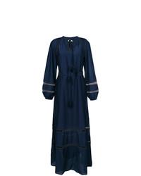 Vestido de noche azul marino de Tory Burch