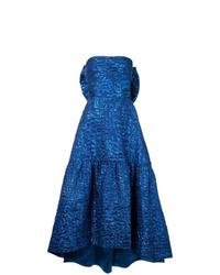 Vestido de noche azul de Bambah