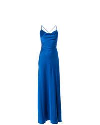Vestido de noche azul de Dvf Diane Von Furstenberg