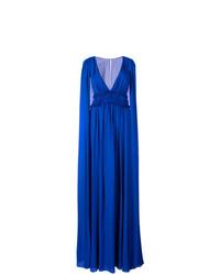Vestido de noche azul de Marchesa Notte