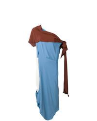 Vestido de noche azul de Marni