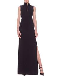 Vestido de Noche con Recorte Negro de Akris