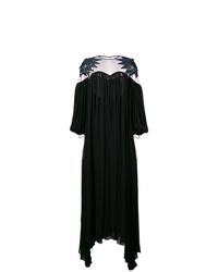 Vestido de noche con recorte negro de Fendi