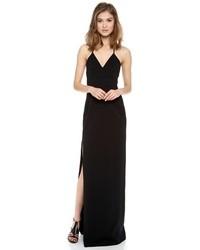Vestido de noche negro de Calvin Klein