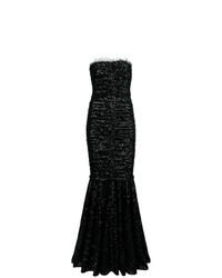 Vestido de noche negro de Dolce & Gabbana