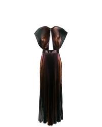 Vestido de noche ombre negro de Givenchy