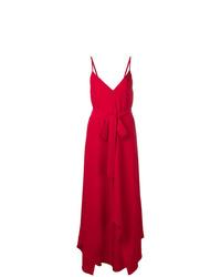 Vestido de noche rojo de Valentino