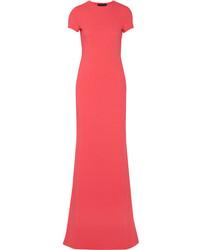 Vestido de noche rosa de Calvin Klein