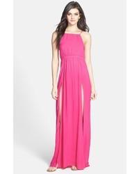 Vestido de noche rosa de Wildfox Couture