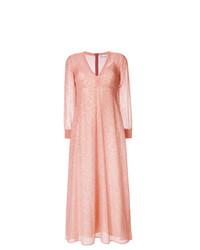Vestido de noche rosado de RED Valentino