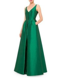 Vestido de Noche Verde de Akris
