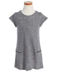 Vestido de punto gris
