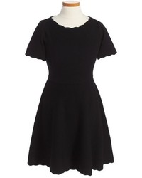 Vestido de punto negro de Milly Minis