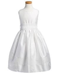 Vestido de seda blanco de Isabel Garreton